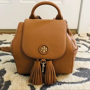 Tory Burch Backpack( new condition)